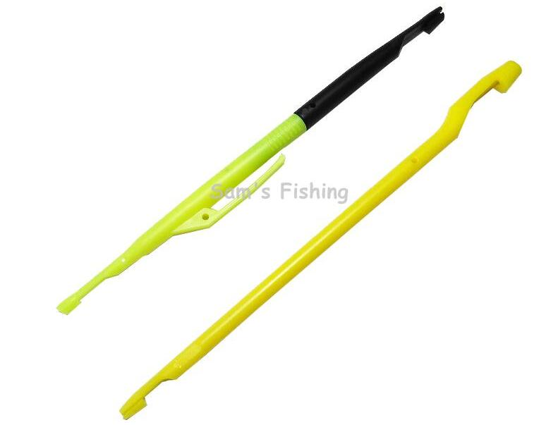 2Pcs Set Carp Fishing Hook Hair Rig Disgorger Plastic Hook Remover Fishing with Needle WW180